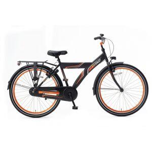 Popal Funjet X 26 Inch 44 cm Jongens Terugtraprem Zwart/Oranje