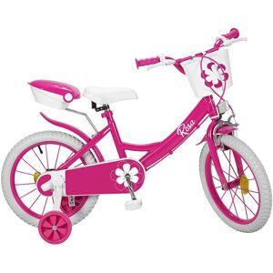 Toimsa Rosa 16 Inch 25,4 cm Meisjes Knijprem Roze/Wit