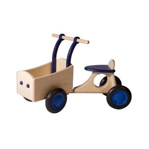 Van Dijk Toys loop bakfiets Junior Blauw