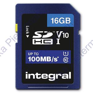 Integral Secure Digital kaart 16GB SDHC V10
