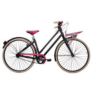 Aurelia 1028SD Single Speed 28 Inch 43 cm Dames V Brake Zwart