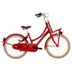 Bike Fun Love & Peace 26 Inch 43 cm Meisjes 3V Terugtraprem Rood