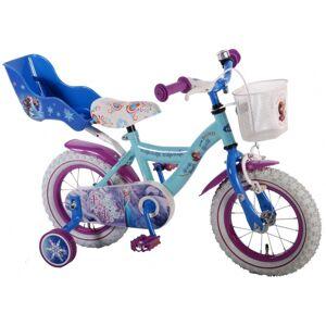 Disney Frozen kinderfiets 14 Inch 23,5 cm Meisjes Terugtraprem Lichtblauw/Blauw