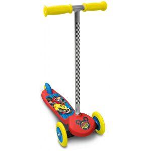 Disney Mickey Mouse 3 wiel kinderstep Junior Voetrem Rood/Geel