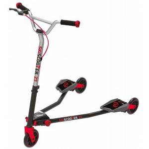 smarTrike Skiscooter Z7 Junior Zwart/Rood