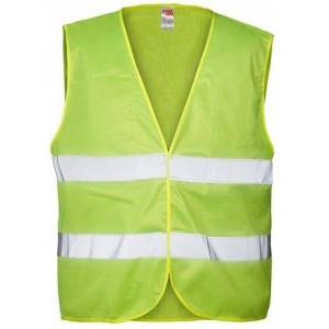 Joggy Safe Veiligheidsvest Blanco Unisex Geel Maat L