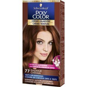 Poly Color Creme Haarverf 77 Kastanje (90ml)