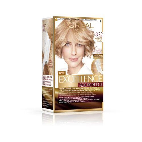 Loreal Haarkleuring Age Perfect - 8.32 Blond (1set)