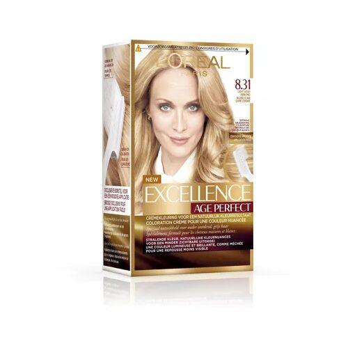 Loreal Haarkleuring Age Perfect - 8.31 Blond (1set)