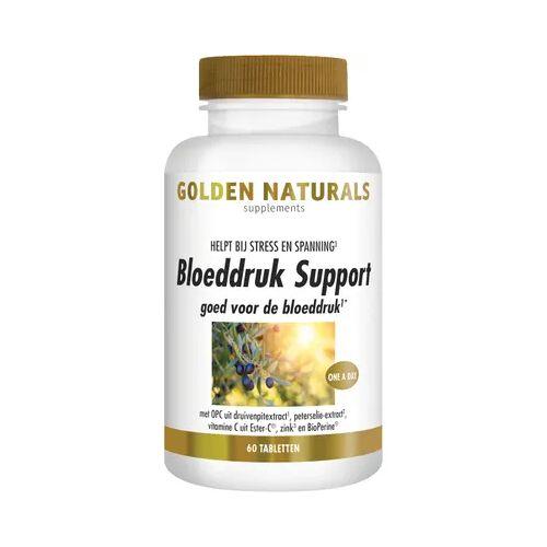 Golden Naturals Bloeddruk Support (60tb)