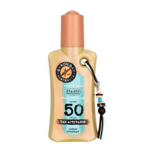 Byron Bay Tan Activator Lotion Spf50 (200ml)