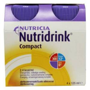 Nutridrink Compact Abrikoos (4st)