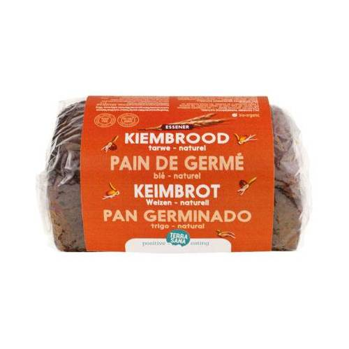 Terrasana Gekiemd Brood Naturel / Tarwe (400g)