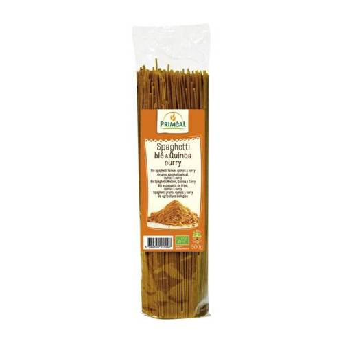 Primeal Organic Spaghetti Tarwe Quinoa Curry (500g)