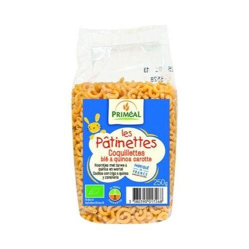 Primeal Hoorntjes Tarwe Quinoa Wortel (250g)