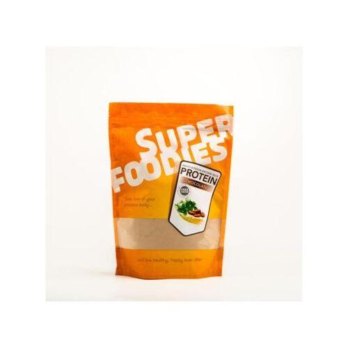 Superfoodies Gefermenteerde Bruine Rijst Eiwit Poeder Chocolade (500g)
