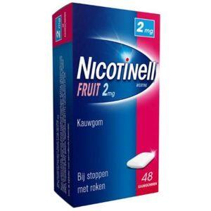 Nicotinell Kauwgom Fruit 2 Mg (48st)