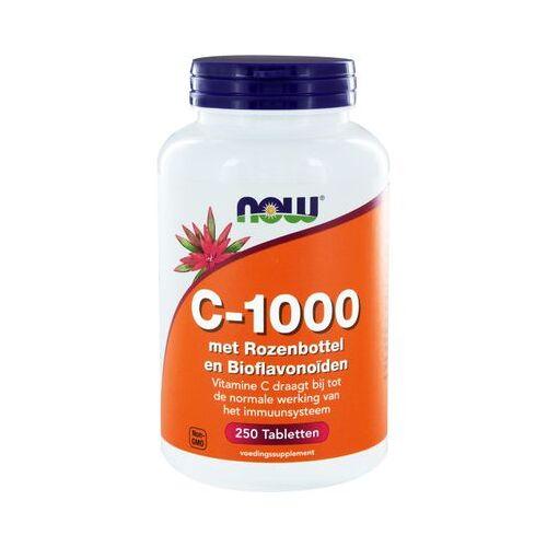 Now Vitamine C-1000 Met Rozenbottel En Bioflavonoïden (250tb)