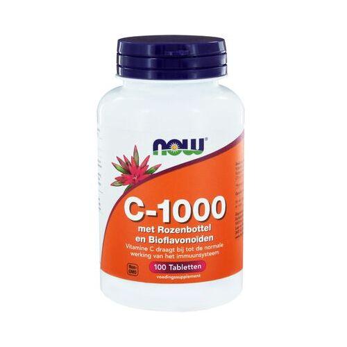 Now Vitamine C-1000 Met Rozenbottel En Bioflavonoïden (100tb)