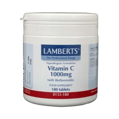 Lamberts Vitamine C 1000 Mg & Bioflavonoiden (180tb)