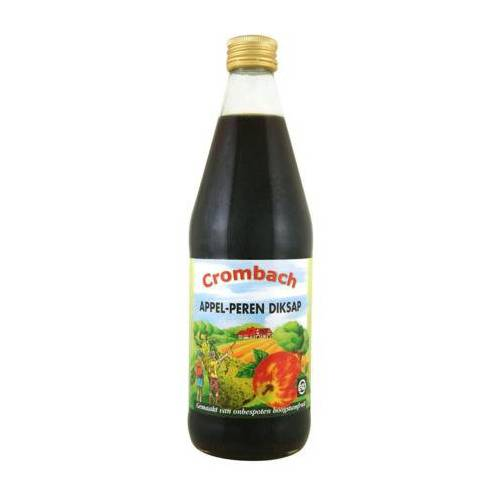Crombach Appel Peren Diksap Bio (500ml)