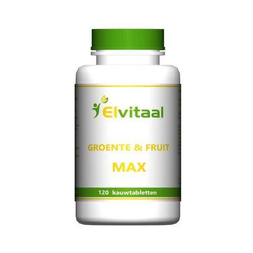 Elvitaal Groente En Fruit Max (120st)