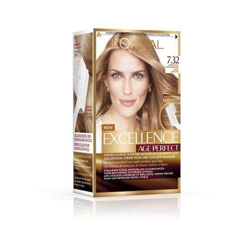 Loreal Haarkleuring Age Perfect - 7.32 Blond (1set)