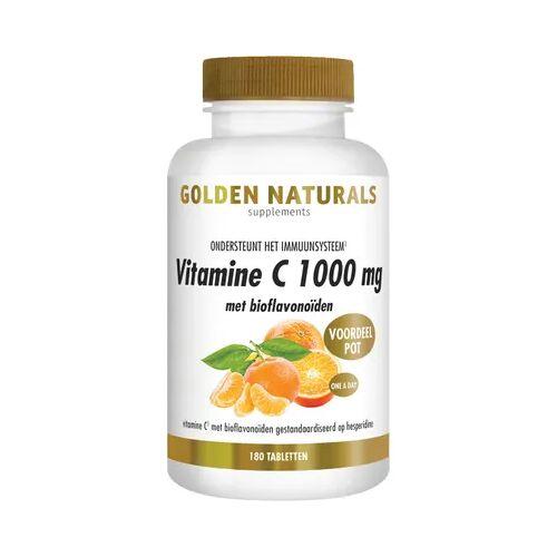 Golden Naturals Vitamine C 1000 Bioflavonoiden (180tb)