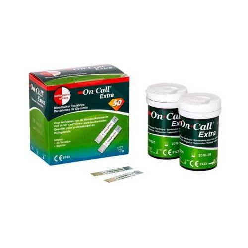 On Call Extra Glucose Teststrips (50st)