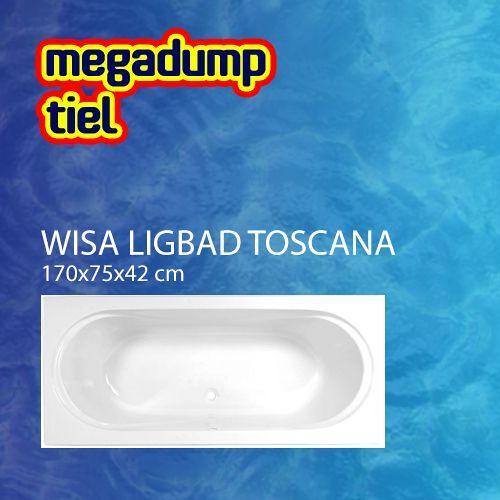 Wisa Ligbad Toscana Wit - Toscana 170x75x42 cm Wit