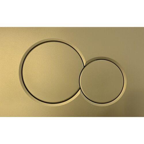 Geberit Bedieningsplaat Sigma 01 Frontbediening Goud