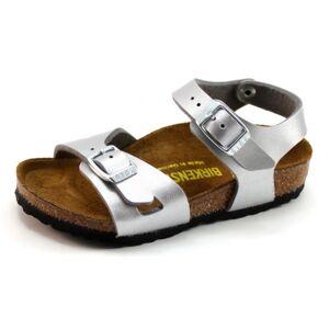 Birkenstock Rio sandalen 0731483 Zilver BIR29
