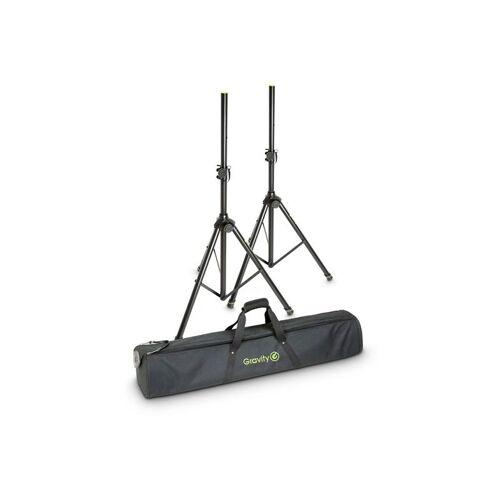 Gravity SS 5211 B speakerstatievenset inclusief draagtas