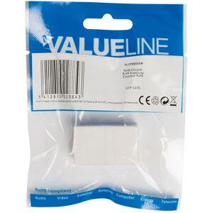 Valueline VLCP89005W RJ45 koppelstuk
