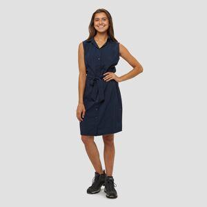 Jack wolfskin sonora outdoor jurk blauw dames L