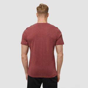 Adidas 3-stripes shirt bordeaux heren S