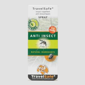 Travelsafe natural anti insect zwart ONESIZE
