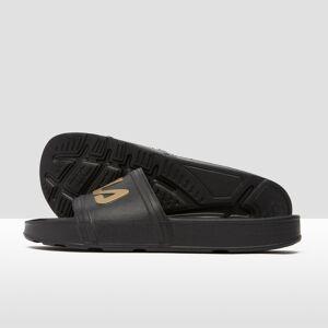 Fila sleek slide slippers zwart/goud dames 38