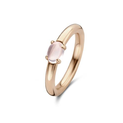 Fifth Ave. Rosé ring met rozenkwarts 01.357RQ.45