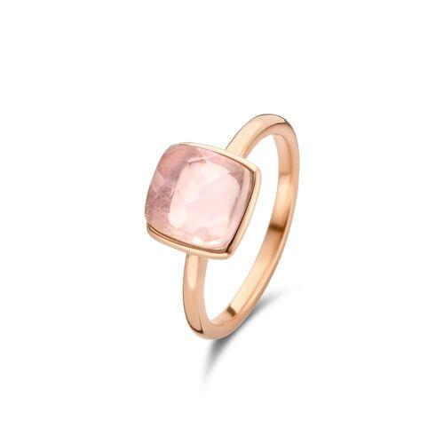 Fifth Ave. Rosé ring met rozenkwarts 01.446RQ.45