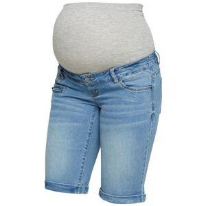 mama;licious Mama licious Shorts MLFRIDAY Lichtblauw denim