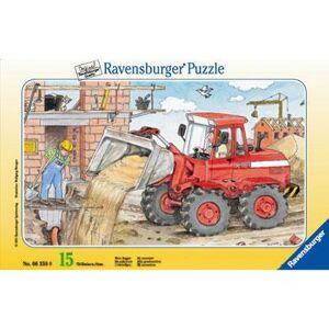 RAVENSBURGER Puzzel Bagger 15 stukjes