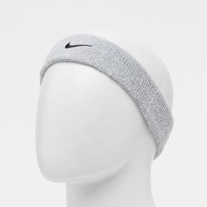 Nike Swoosh Headband  - Grijs - Size: One Size