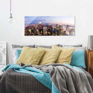Home24 Afbeelding New York Skyline Nacht, Bilderwelten