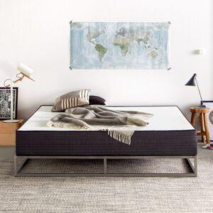 Home24 Premium comfortmatras Smood, home24  - grijs,Wit