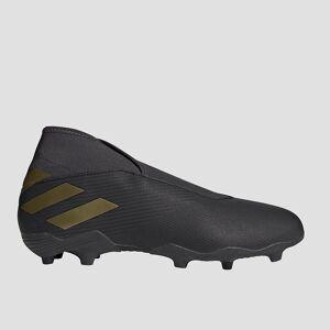 adidas Nemeziz 19.3 laceless fg voetbalschoenen zwart Dames  - zwart/zwart - Size: 42