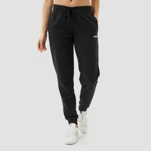 adidas Essentials plain joggingbroek zwart dames Dames  - zwart - Size: Medium