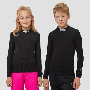 CRAFT Prog baselayer thermoshirt zwart kinderen Kinderen  - zwart - Size: 140