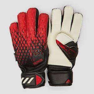 adidas Predator 20 match fingersave keepershandschoenen zwart/rood kinderen Kinderen  - zwart/rood - Size: 7.0