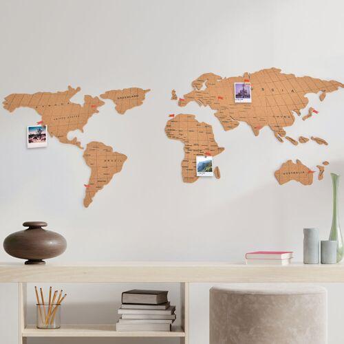 OOTB Wereldkaart prikbord - puzzel